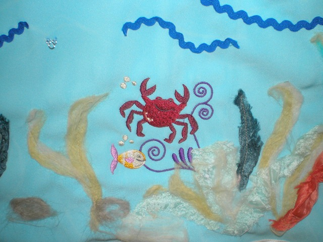 Коралловый риф в виде кармашка